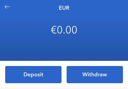 coinbase euro withdrawal