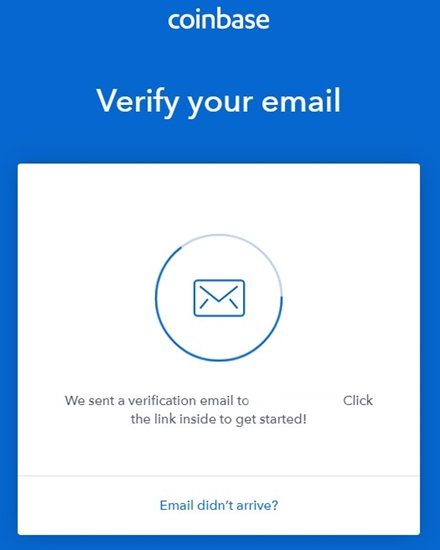 coinbase mail verification